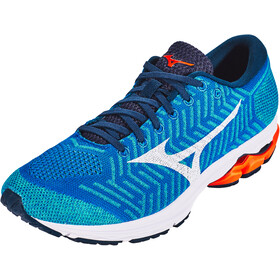 Mizuno Waveknit R2 Buty Mężczyźni, nautical blue/white/red orange